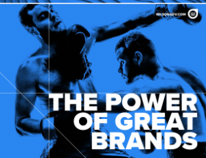 Power of Great Brands is the Value they bring to their companies.